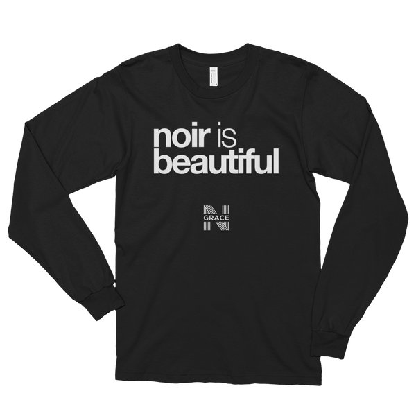 Noir Is Beautiful Long Tee