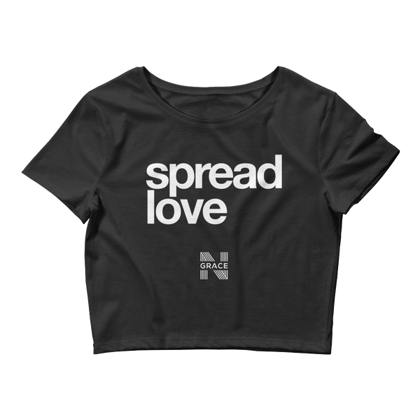 Spread Love Crop Top