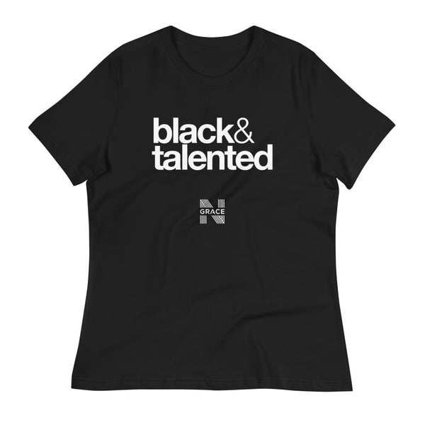 Black & Talented Women's Relaxed T-Shirt
