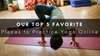 Where to Practice Yoga Online