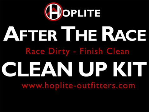 After Action - Post Race Clean Up Kits - Kits - Hoplite-Outfitters - Training, Racing and Recovery Gear