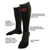 Image of Hoplite Compression Socks: Support and Protection for Lifting, Running & OCR - Socks - Hoplite-Outfitters - Training, Racing and Recovery Gear