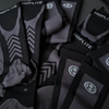 Image of Hoplite Compression Socks: Support and Protection for Lifting, Running & OCR - Stealth Color - Socks - Hoplite-Outfitters - Training, Racing and Recovery Gear