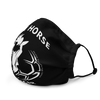 Image of Iron Horse Soccer Premium face mask