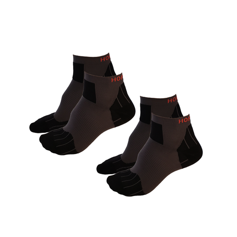 OCR and Trail Running Socks - Ankle-Length, 2 Pair Multi-Pack -  - Hoplite-Outfitters - Training, Racing and Recovery Gear