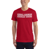 Image of Nobody Cares Short-Sleeve T-Shirt, Bkwrds, Dark -  - Hoplite-Outfitters - Training, Racing and Recovery Gear