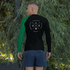 Image of Obstacle Course Racing Performance Long Sleeve, green left sleeve -  - Hoplite-Outfitters - Training, Racing and Recovery Gear