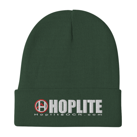 Hoplite Embroidered Beanie