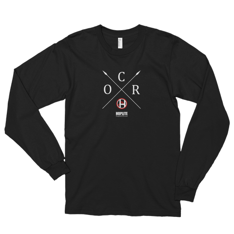 OCR Cross Long sleeve t-shirt (unisex) -  - Hoplite-Outfitters - Training, Racing and Recovery Gear