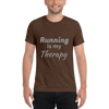 Image of Running is my Therapy T-Shirt d -  - Hoplite-Outfitters - Training, Racing and Recovery Gear