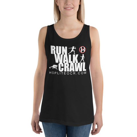 Run Walk Crawl Tank Top