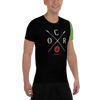 Image of Obstacle Course Racing Tech Short Sleeve Shirt, Green Sleeve -  - Hoplite-Outfitters - Training, Racing and Recovery Gear