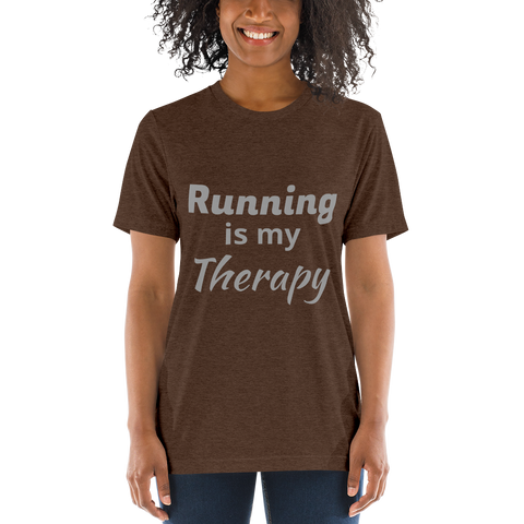 Running is my Therapy T-Shirt d