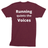 Image of Running Quiets the Voices Track Shirt -  - Hoplite-Outfitters - Training, Racing and Recovery Gear