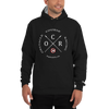Image of Obstacle Course Racing Crossed Spears - Champion Hoodie -  - Hoplite-Outfitters - Training, Racing and Recovery Gear