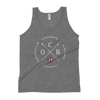 Image of Obstacle Course Racing Crossed Spears Unisex Tank Top