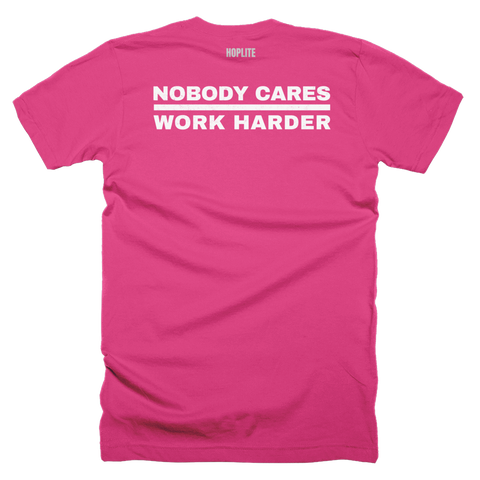 Nobody Cares Short-Sleeve T-Shirt, Bkwrds, Dark