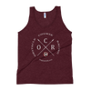 Image of Obstacle Course Racing Crossed Spears Unisex Tank Top -  - Hoplite-Outfitters - Training, Racing and Recovery Gear