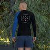 Image of Obstacle Course Racing Performance Long Sleeve, blue left sleeve -  - Hoplite-Outfitters - Training, Racing and Recovery Gear