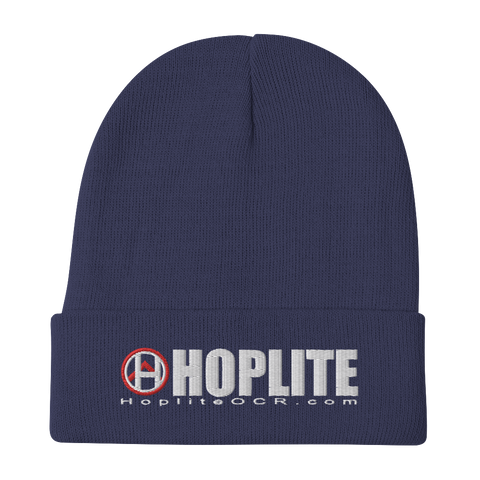 Hoplite Embroidered Beanie -  - Hoplite-Outfitters - Training, Racing and Recovery Gear