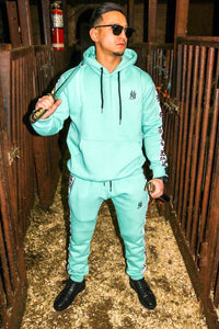 MS ™ Turquoise Wave Tracksuit (French Terry)