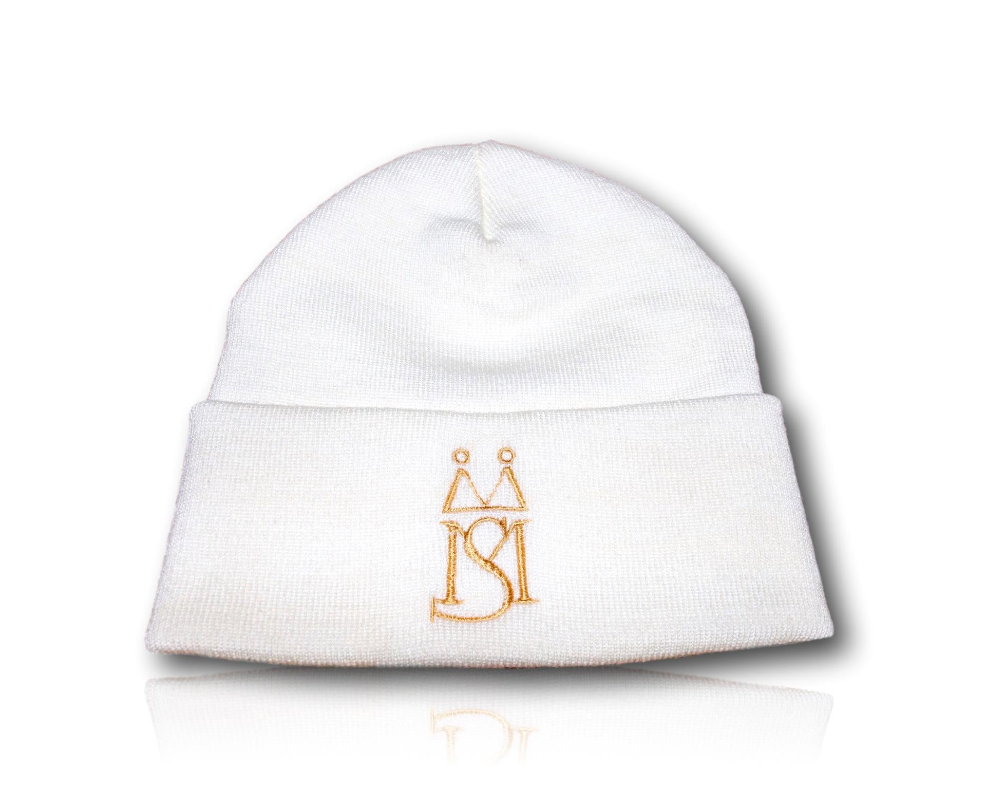 MS ™ White Crystal Hat (Unisex)
