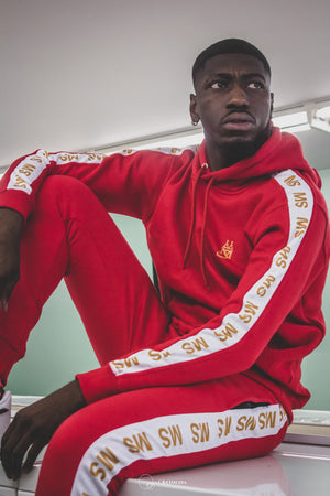 MS ™ Red Fire Tracksuit (French Terry)