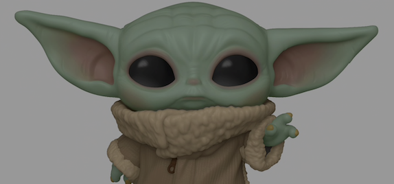 BABY YODA - THE CHILD FUNKO POP