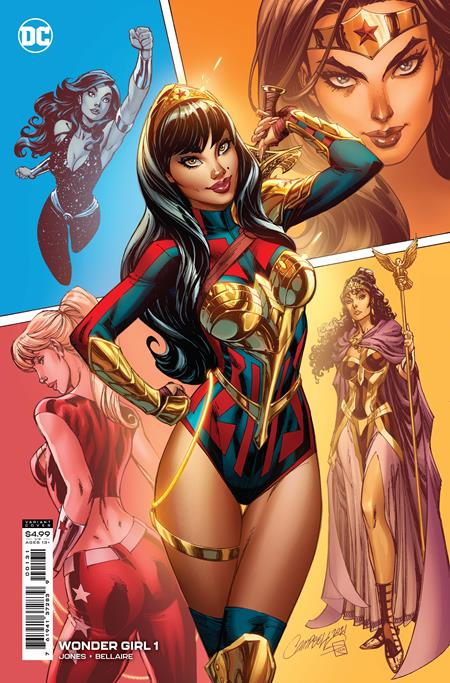 WONDER GIRL 1 1:25 J SCOTT CAMPBELL INCENTIVE RATIO VARIANT