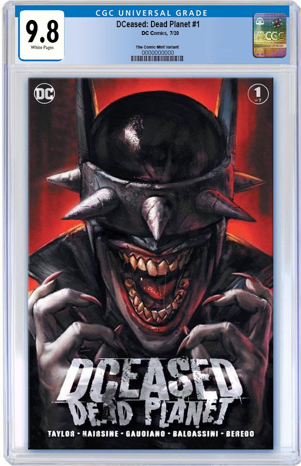 DCEASED DEAD PLANET 1 IAN MACDONALD VARIANT