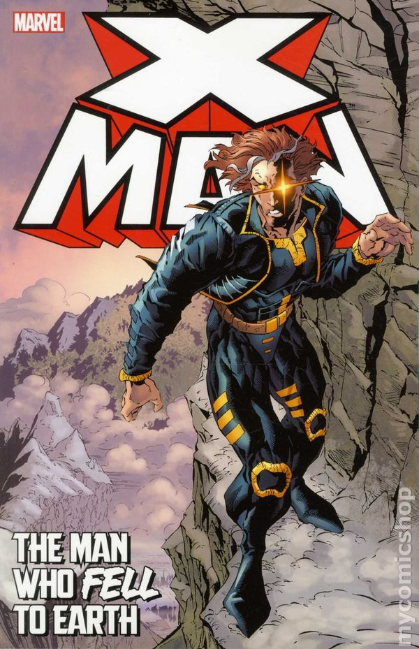 Marvel X-Man The Man Who Fell To Earth NEW TPB 1st Print FOR 50% OFF - The Comic Mint