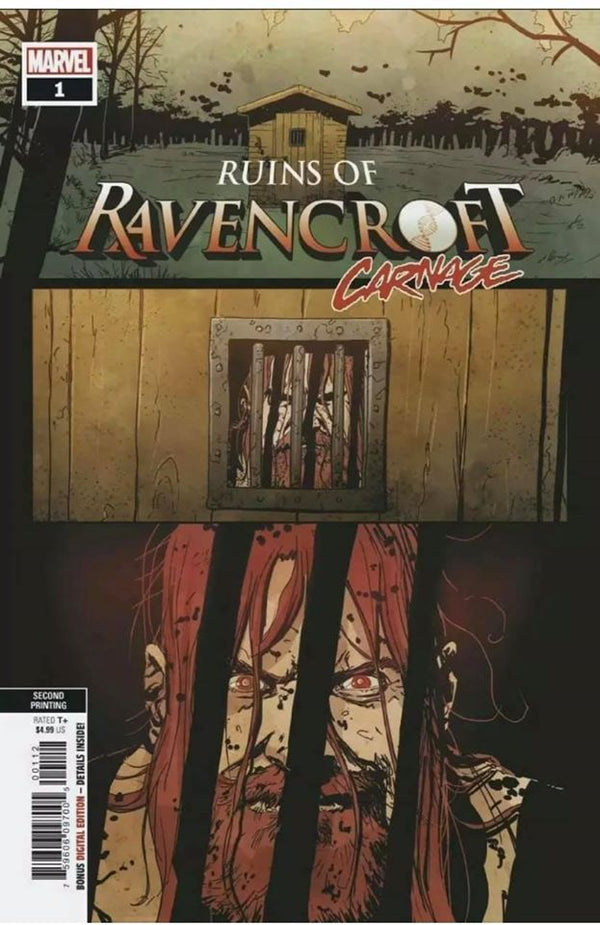 RUINS OF RAVENCROFT CARNAGE #1 SECOND PRINT CORTLAND KASSADAY COVER