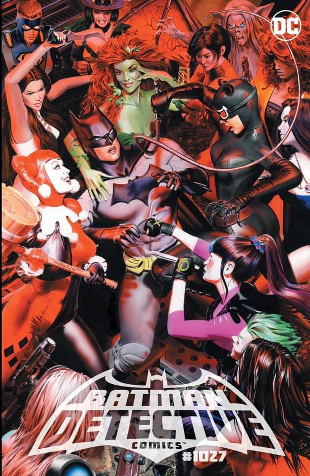 DETECTIVE COMICS 1027 MIKE MAYHEW VARIANTS