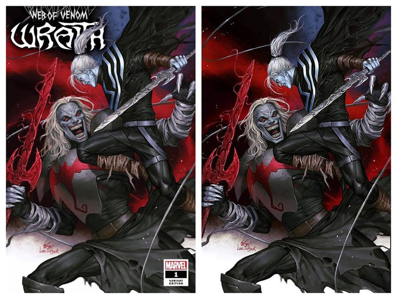 WEB OF VENOM WRAITH 1 INHYUK LEE VARIANT
