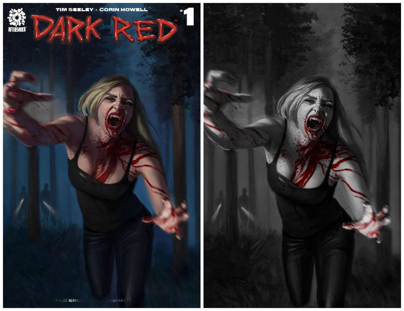 DARK RED 1 SPECIAL EDITION AARON BARTLING NYCC WEEK EXCLUSIVE VARIANT