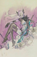X OF SWORDS 1 PEACH MOMOKO MAGIK VIRGIN SKETCH NYCC WEEK VARIANT