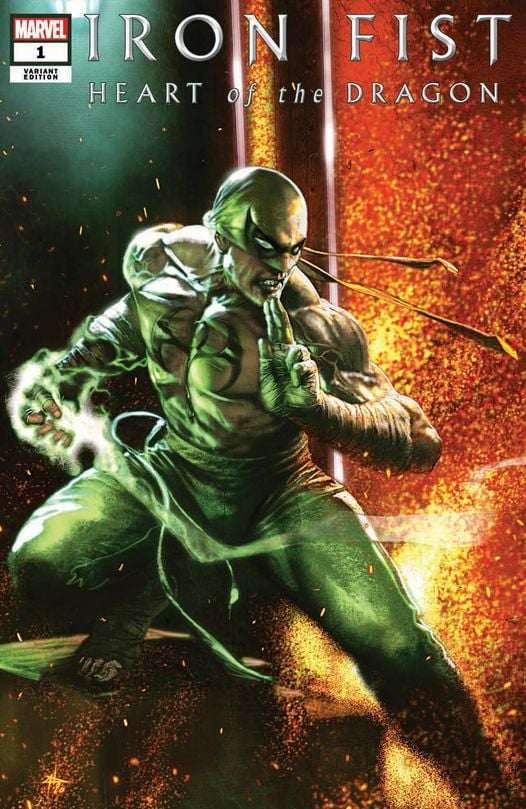 IRON FIST HEART OF THE DRAGON 1 GABRIELE DELL'OTTO VARIANT