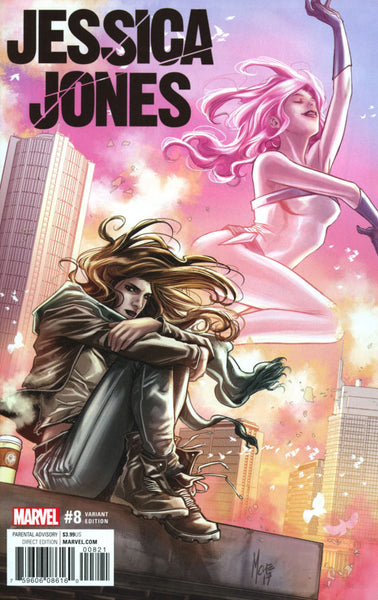 Jessica Jones #8 Cover B Variant Marco Checchetto Cover NM