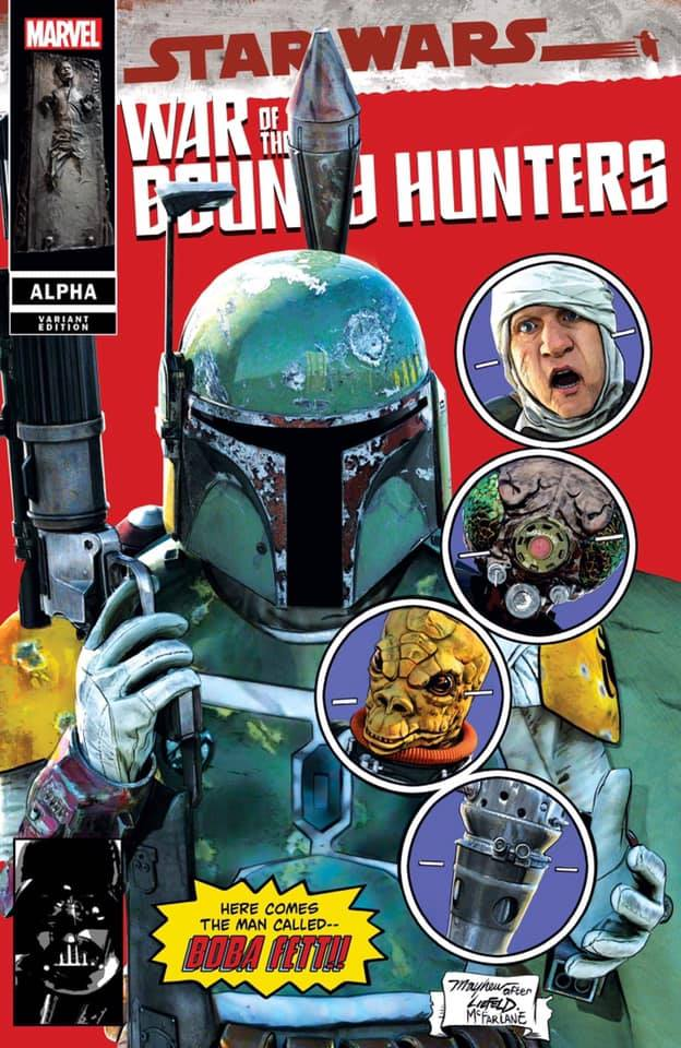 WAR OF THE BOUNTY HUNTERS 1 ALPHA MIKE MAYHEW VARIANTS