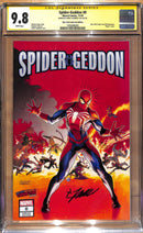 Spider-Geddon 0 Jamal Campbell NYCC Secret Wars 8 MODERN trade dress Variant - Non graded, CGC 9.8, SIGNED CGC 9.8 OPTIONS - The Comic Mint