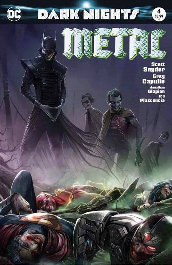 DARK NIGHTS METAL 4 COLOR MODERN TRADE DRESS - The Comic Mint