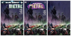 DARK NIGHTS METAL 4 FRANCESCO MATTINA VARIANTS
