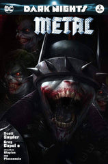 DARK NIGHTS METAL #2 FRANCESCO MATTINA COLOR  TRADE DRESS VARIANT