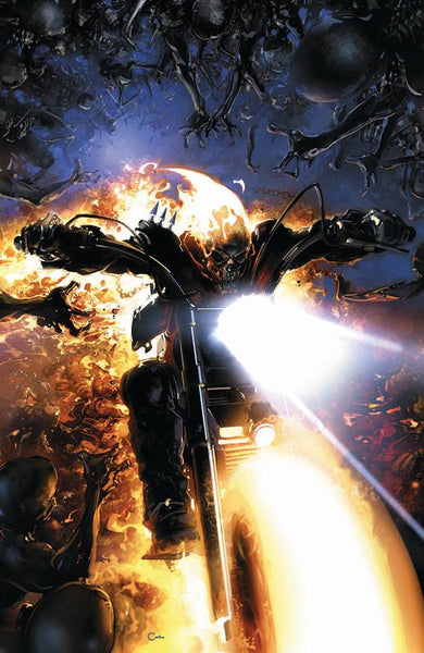 JOHNNY BLAZE GHOST RIDER #1 CLAYTON CRAIN LIMITED VIRGIN VARIANT-TCMI