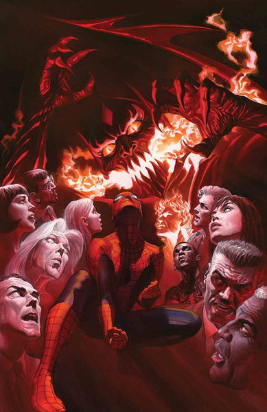 AMAZING SPIDER-MAN #800 1:500 Alex Ross VIRGIN Variant-TCMI