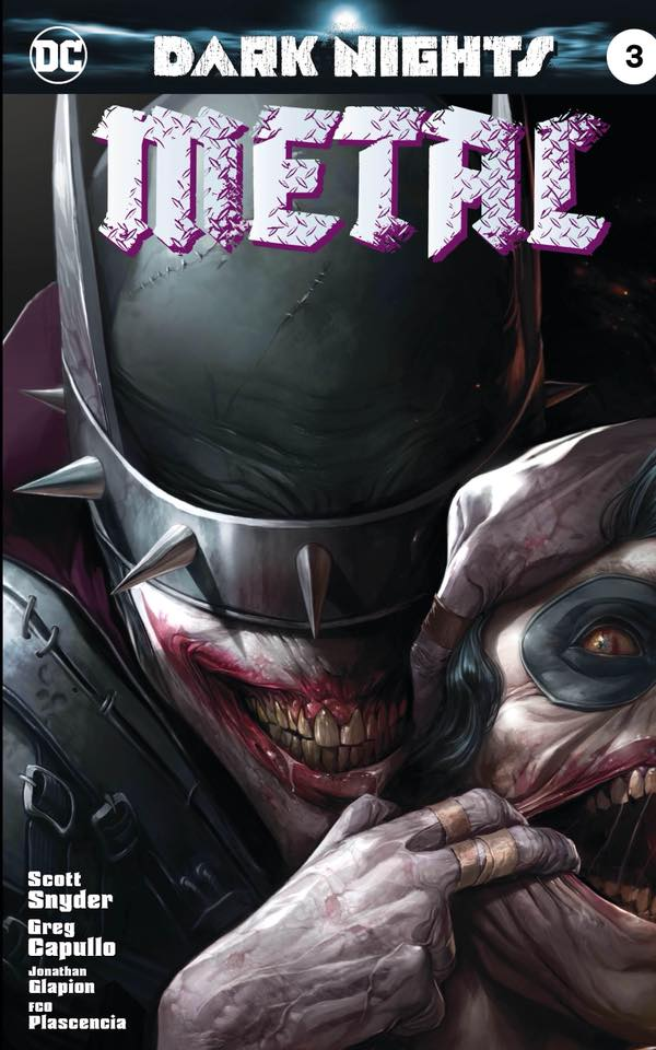 DARK NIGHTS METAL 3 FOIL - The Comic Mint