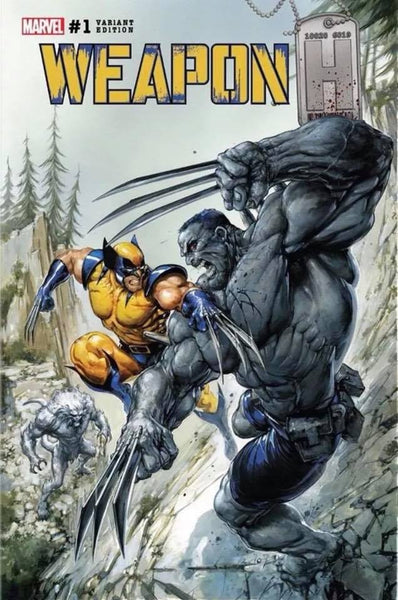 WEAPON H #1 CLAYTON CRAIN HULK 181 SECRET LIMITED VARIANT