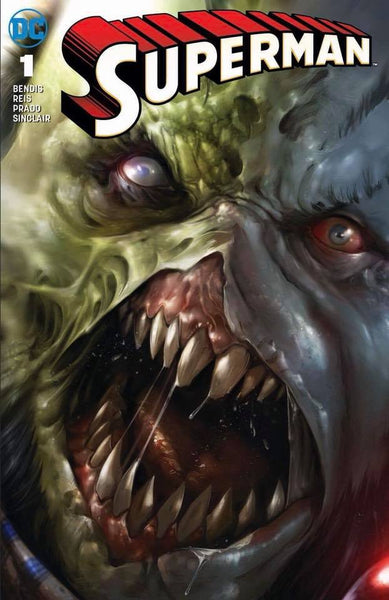 SUPERMAN #1 FRANCESCO MATTINA VARIANT FEATURING VILLAIN ROGOL ZAAR!