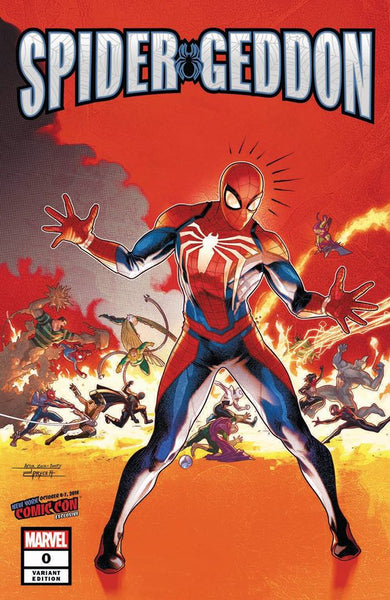 Spider-Geddon 0 Jamal Campbell NYCC Secret Wars 8 Homage Variant opportunity