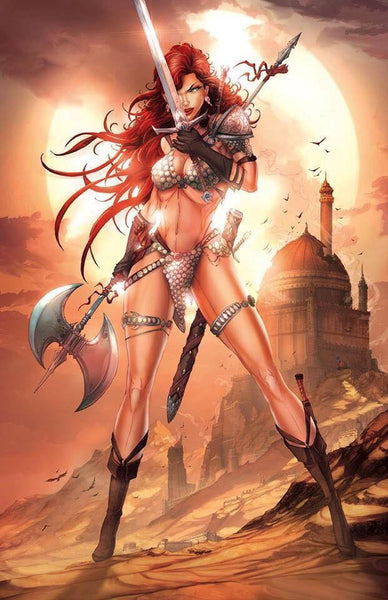 RED SONJA #1 Jamie Tyndall Virgin Variant